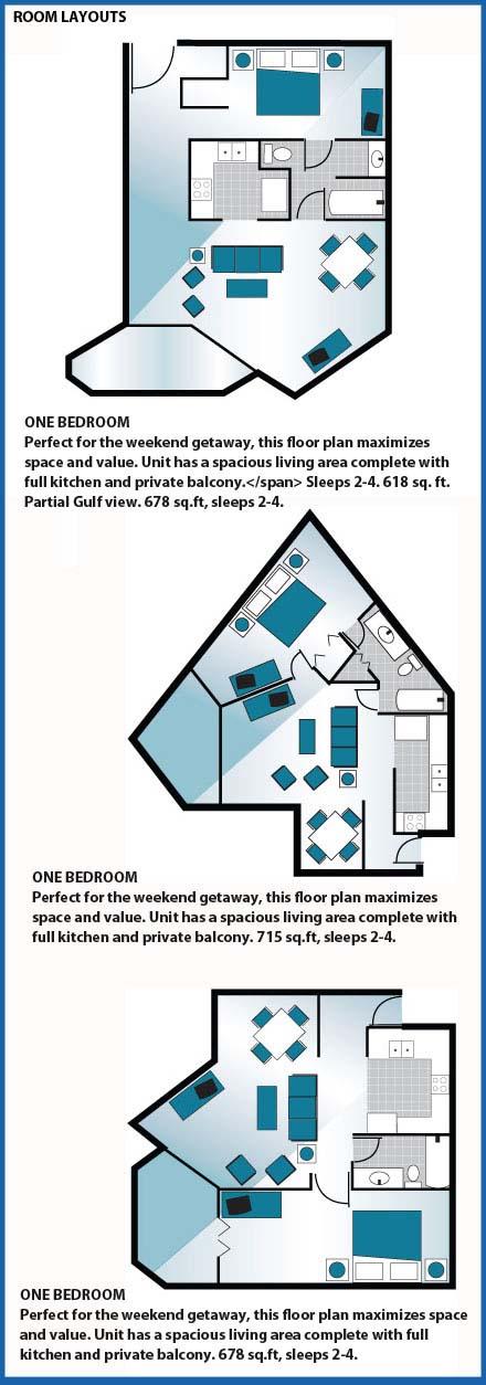 sunbird room layout